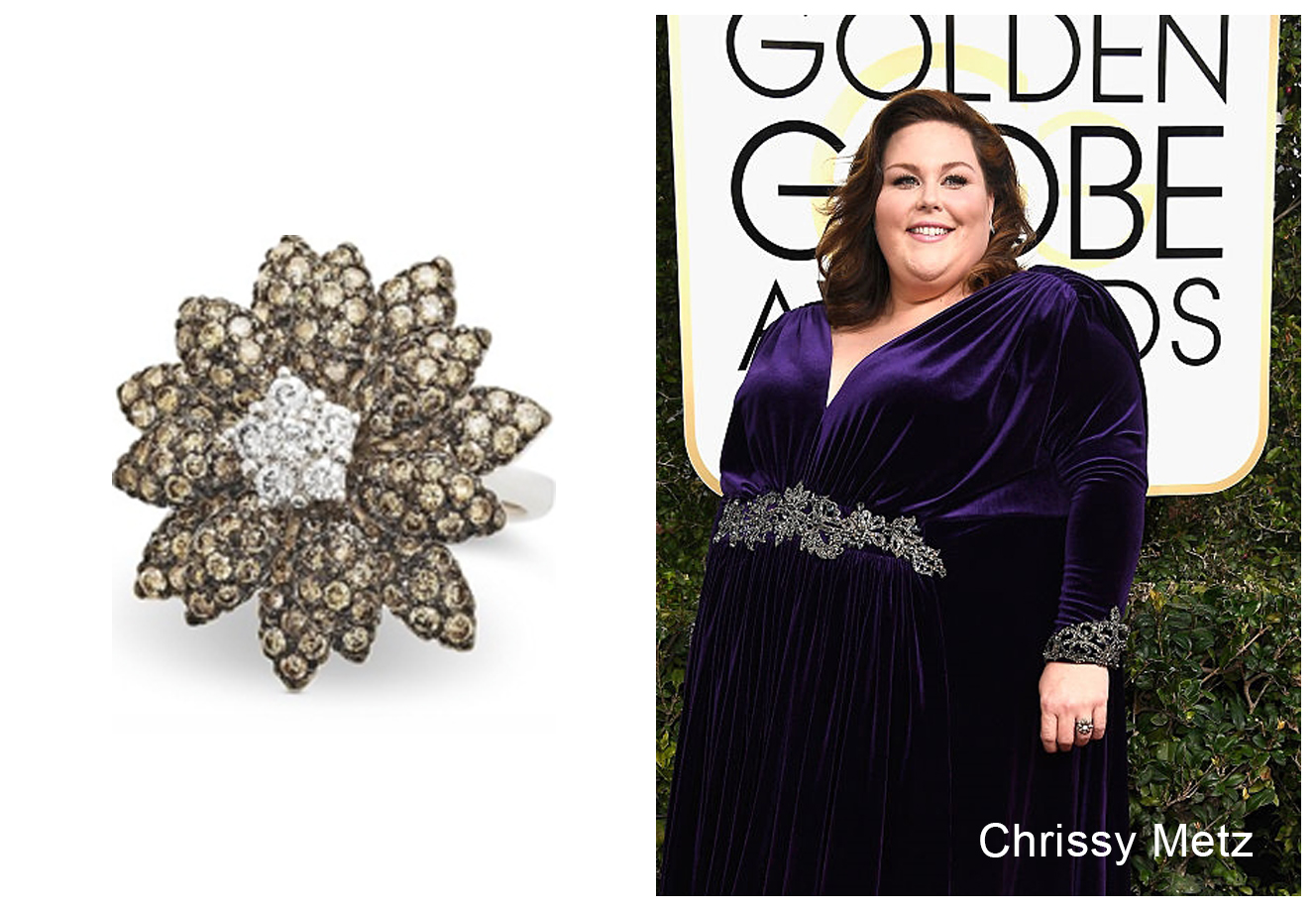 Le Vian Jewelry Spotted at Golden Globe Awards