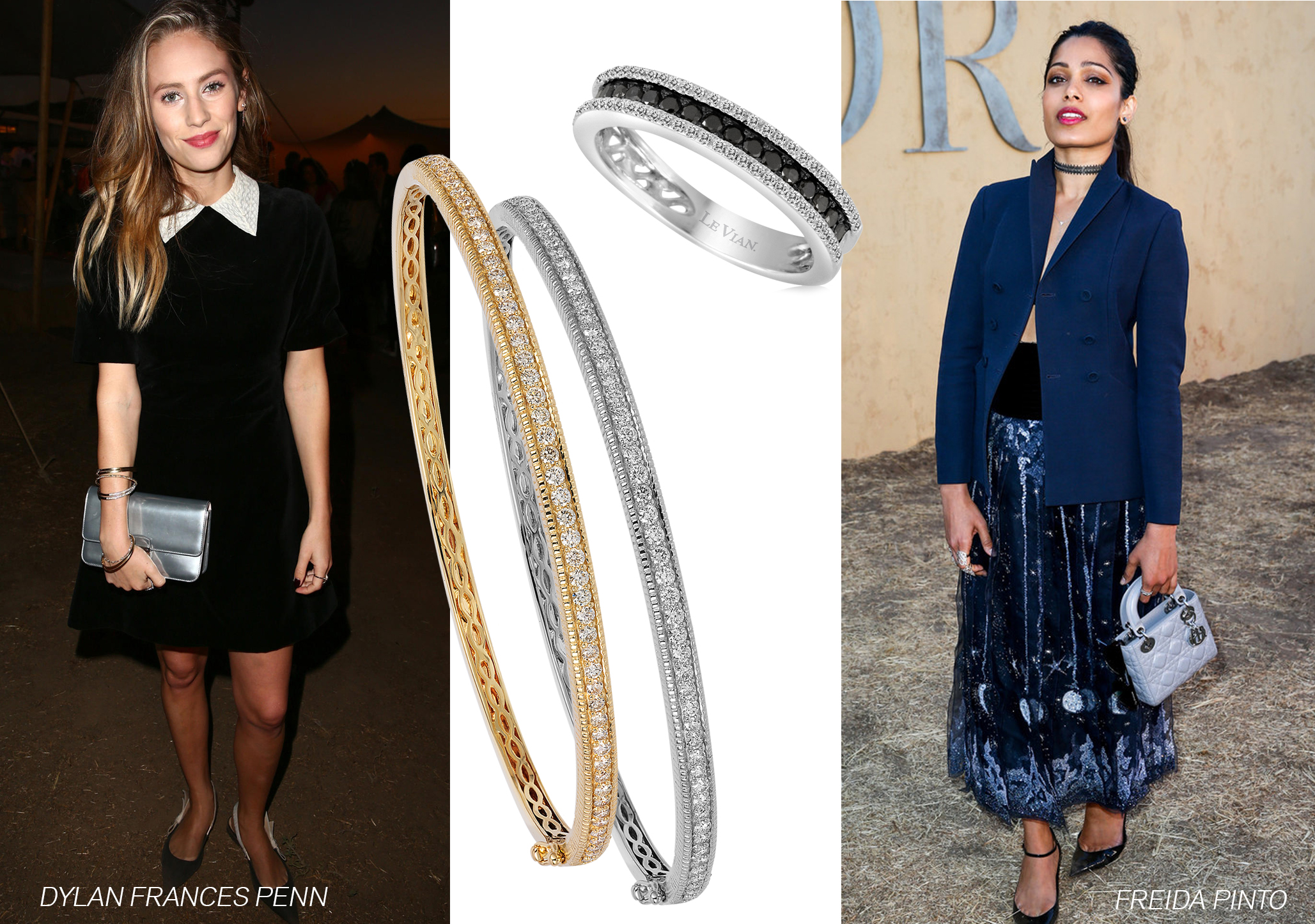 Stars Wear Le Vian® Jewelry to Christian Dior Runway Show in California