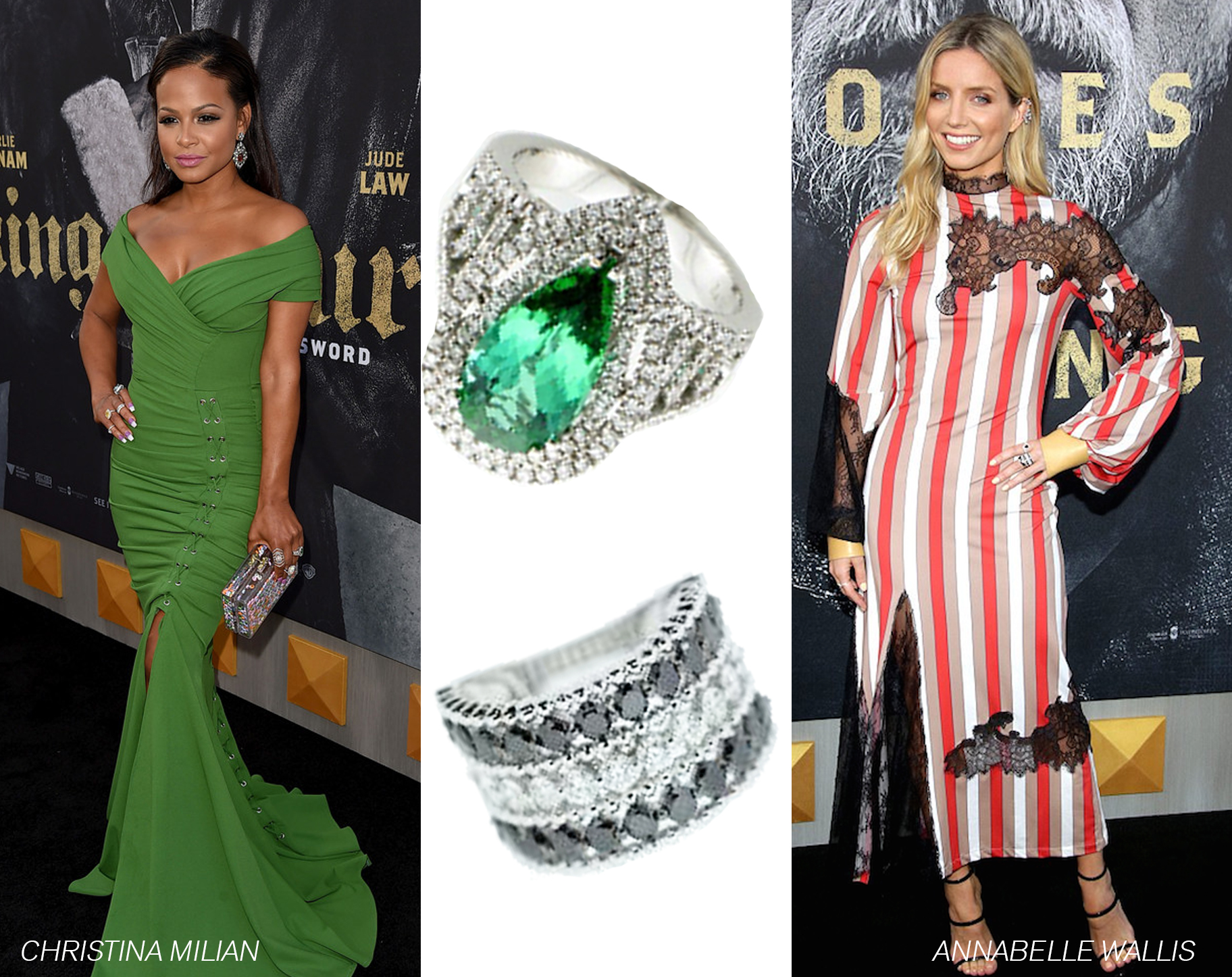 "Le Vian® Jewelry Spotted at Hollywood Premiere of ""King Arthur: Legend of the Sword"""