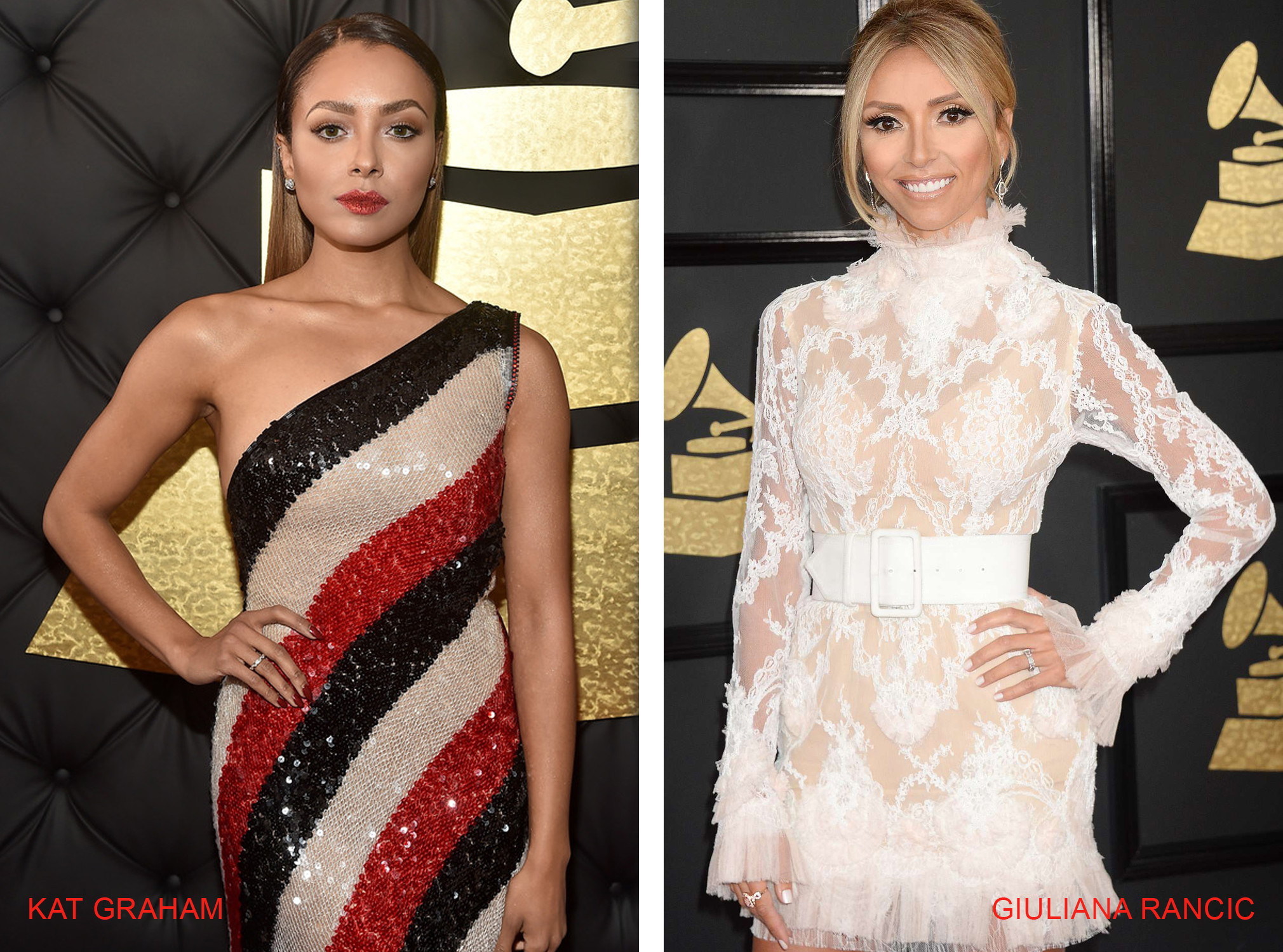 Le Vian Jewelry Spotted at the The 59th GRAMMY Awards in Los Angeles
