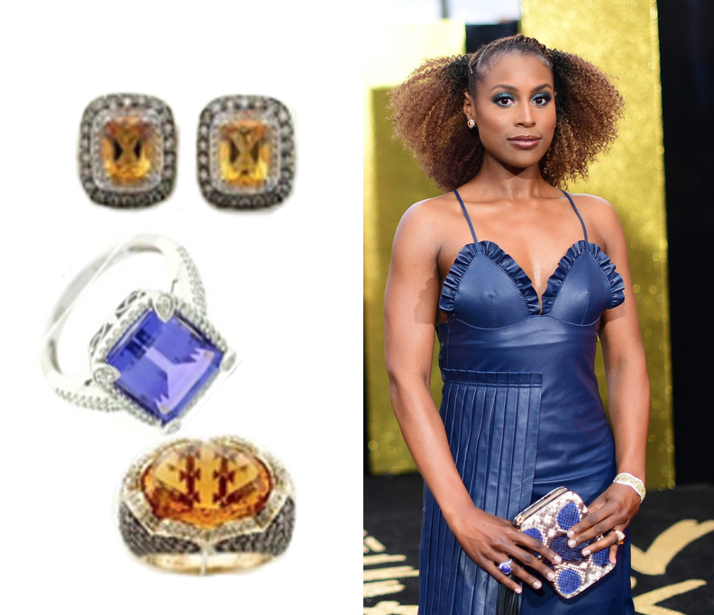 Issa Rae Wearing Le Vian® Jewelry at the 2017 MTV Movie And TV Awards